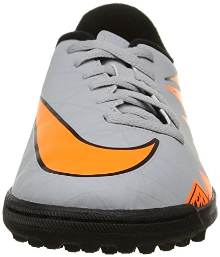 Nike Herren Jr Hypervenom Phade Ii Tf Low-Top wolf grey/total orange-black-black