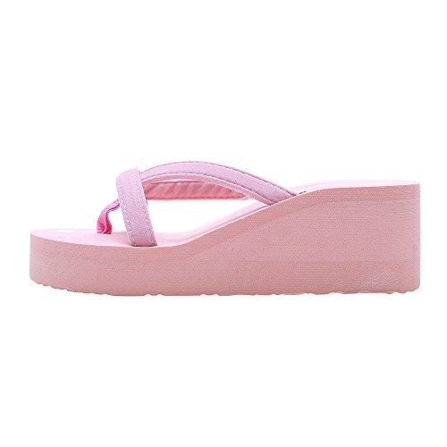 Fannyfuny_Zapatos de Verano Sandalias de Verano Sandalias Mujer Cuña Zapatillas de Estar por casa Sandalias...