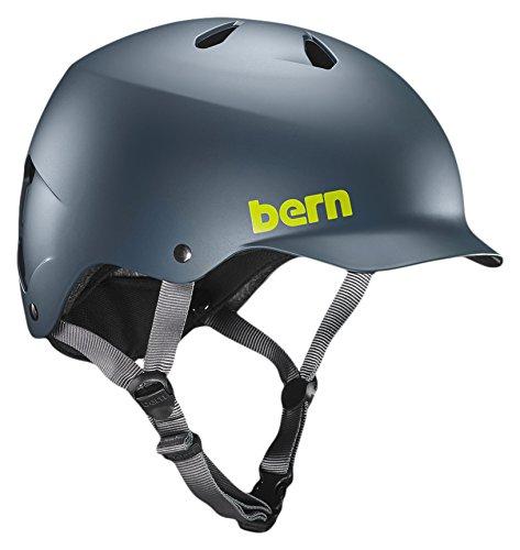 Bern Watts EPS Fahrrad Helm, blau, Large
