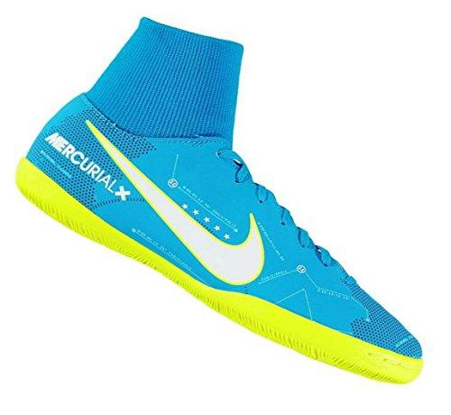 Nike Herren MercurialX Victory VI DF IC Fußballschuhe Blau (Lt Armory Blue/armory Navy/armory Blue)