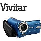 Kids Camcorder Ultra Compact Digital Camera Vivitar DVR908M 8 Megapixel Full HD 1080p Digital Camera 8MP (Blue)