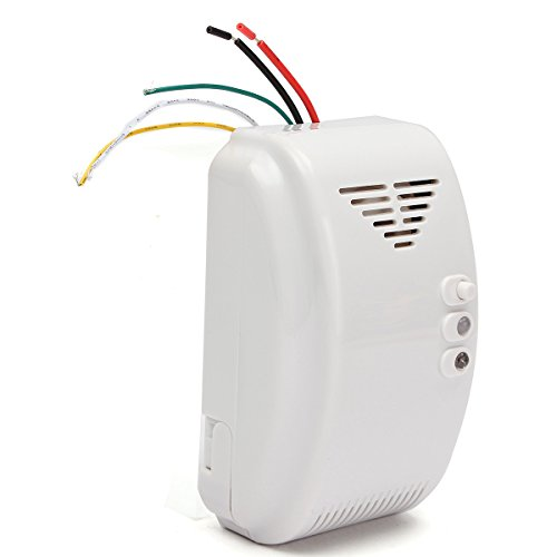 Tutoy Detector De Gas 12V Alarma Sensor De Propano Butano Gas Natural Autocaravana Camper Marine