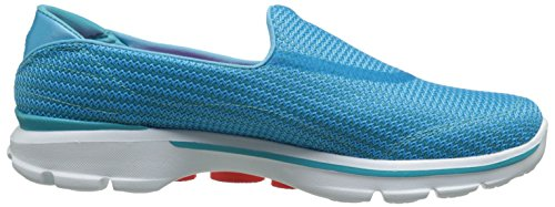 Skechers Damen Go Walk 3 Sneakers Blau (Turq)