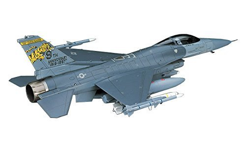 Hasegawa 1:72 Scale F-16CJ Block 50 Fighting Falcon Model Kit by Hasegawa (Block F-16cj)