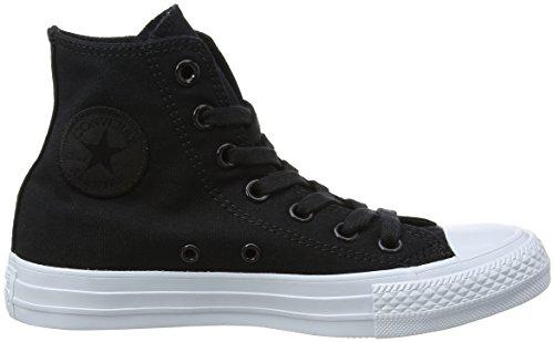 Converse Chuck Taylor All Star, Sneaker a Collo Alto Unisex – Adulto Schwarz (Black/Black/Pure Platinum)