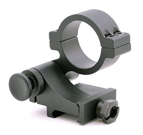 TMS 90Degree FTS Quick Flip To Side Mount for 30mm Magnifier Scope 36mm Medium Height by Hammers