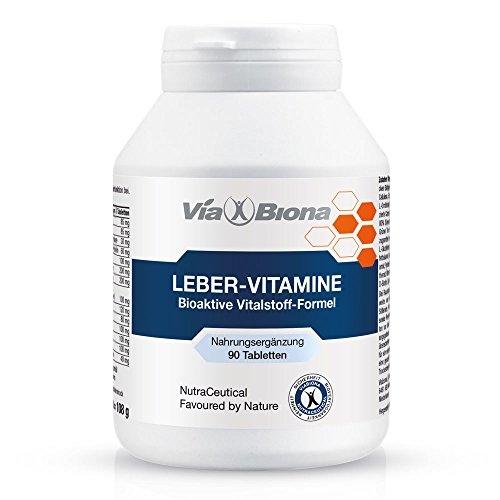 Leber-Vitamine GGT-Complex, höchstdosiert plus bioaktivem Mariendistel-Extrakt, 90 HighResorp-Tablets, maximale Resorption und Verwertung