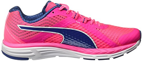 Puma Speed 500 Ignit, Chaussures de Running Entrainement Femme Rose (Knockout Pink-true Blue 04)
