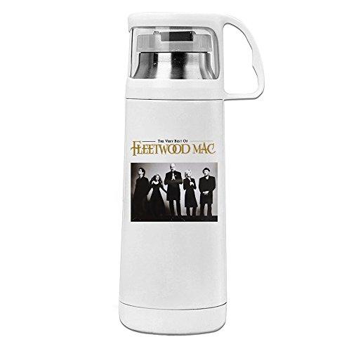 kuum Isolierte Reise Tasse The Very Best Of Fleetwood isoliert Wasser Flasche Weiß 14oz/350ml ()