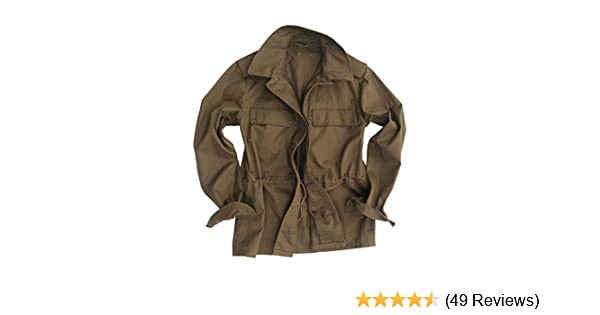 4fe28b1acb9 Genuine CZECH Army Issued Olive Drab M85 Field Jacket  Amazon.co.uk   Clothing