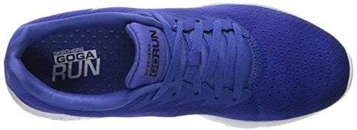 Skechers Go Run 400, Chaussures Multisport Outdoor Homme Bleu (Blue)