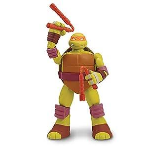 Giochi Preziosi - Turtles Head Dropping Michelangelo Personaggio, con Testa a Molla
