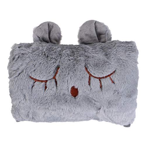 Healifty scaldamani elettrico ricaricabile per borsa per acqua calda portatile coniglietto di peluche portatile