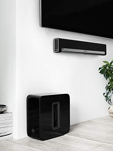 Sonos SUB I Subwoofer für das Sonos Smart Speaker System (schwarz) - 4