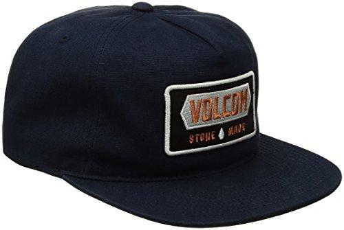 Volcom Shop Gorra, Hombre, Azul Marino, Talla Única