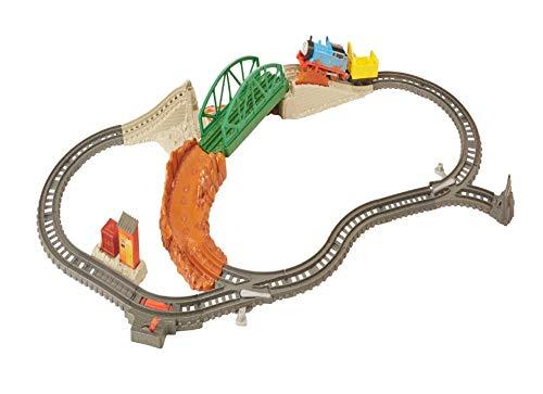 Thomas & Friends FBK07 Bridge Surprise Set, Thomas the Tank Engine Toy Train Set, Trackmaster Toy Train, 3 Year Old