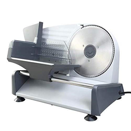 41L6MjmhCIL. SS500  - Electric Slicer Machine with 200W Electric Motor Food Slicers