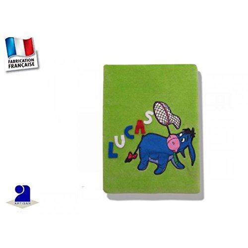 Poussin bleu - Protège carnet de santé personnalisé Bourriquet