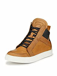 Alberto Torresi Mens TAN Boots-6 UK/India (40 EU)(86725)