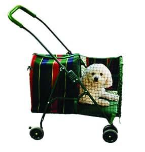 Kittywalk original stripe pet stroller a righe amazon for Amazon trasportini per cani