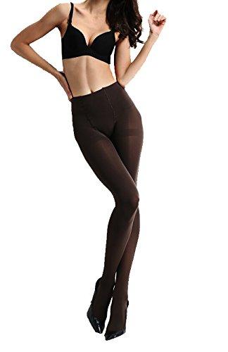 Anderlay Donne Leggings Termico Pantaloni Termici Beige(EU/36-48) 2 Braun