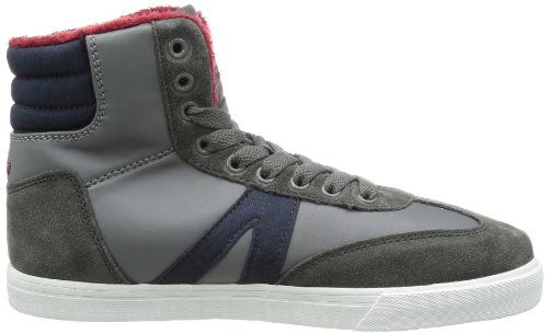 Lico Casual Winter 530276 Mädchen Sneaker Grau (anthrazit/bordeaux)