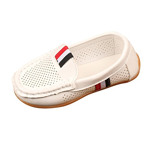 Vovotrade Bambini Capretti Ragazze Ragazze Solid Leather Hollow Lazy Sneaker Scarpe Casual