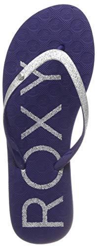 Blauen Gummi-flip-flops (Roxy Damen Viva Glitter Sport Sandalen, Blau (Navy NVY), 39 EU)
