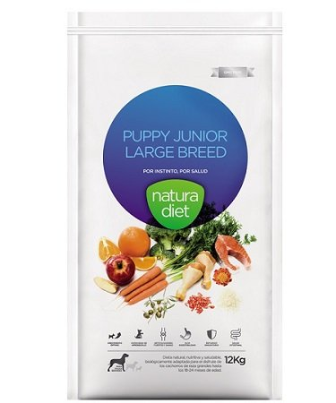Natura diet Puppy junior large breed 3 kg Alimento