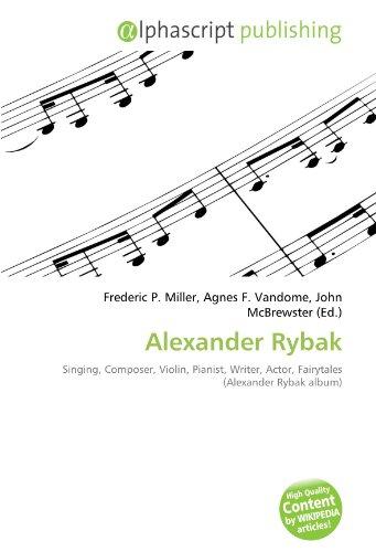 Alexander Rybak Singing Composer Violin Pianist Writer Actor Fairytales Alexander Rybak Album