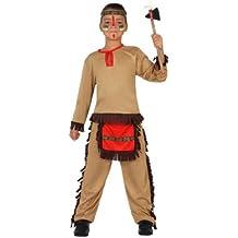 Atosa - Disfraz de indio para niño, talla 3 - 4 años (23781)