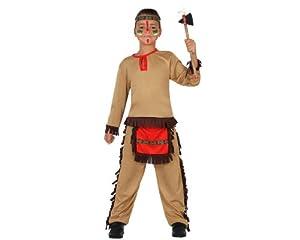 Atosa-23782 Disfraz Indio, color marrón, 5 a 6 años (23782)