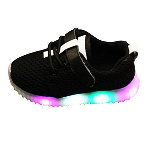 Jungen Mädchen Prewalker Light Schuhe - Highdas Babyschuhe Sommer Jungen Mädchen LED Schuhe Turnschuhe Kinder Netz leuchten Sportschuhe