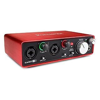 Focusrite Scarlett 2i2 (2G) USB-Audio-Interface mit Pro Tools