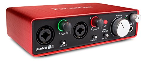Produktbild Focusrite Scarlett 2i2 (2G) USB-Audio-Interface mit Pro Tools
