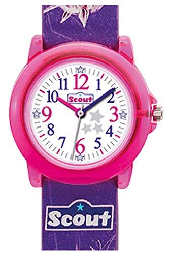 Scout Mädchen-Armbanduhr Analog Quarz Plastik 280305023
