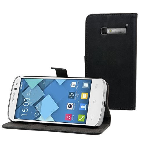 muvit Alcatel One Touch Pop C5 Slim S Case Black