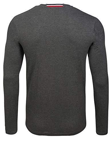 U.S. POLO ASSN. Shirt Sweatshirt Herren Langarmshirt Longsleeve Grau 168 42963 51884 189, Größenauswahl:L