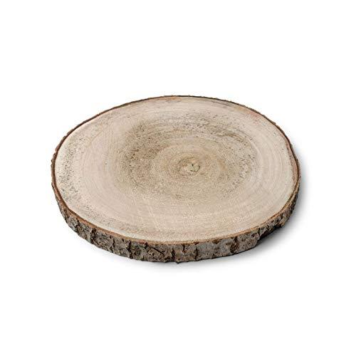 Af - Décor de table rondin de bois D11-14cm lot de 4