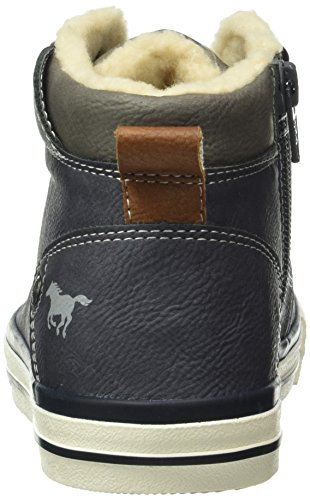 Mustang 5024-604, Sneakers Hautes Mixte Enfant Bleu (820 navy)