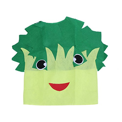 stüme für Kinder Halloween Kostüm Gemüse Cosplay Leistung Kostüm Abendkleid für Kinder Geburtstag Thema Party Bühnenshow und Geschenk (Kohl) ()
