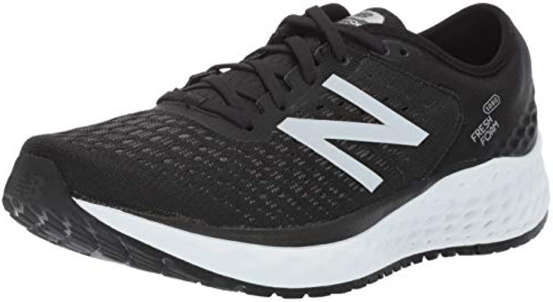 New Balance Fresh Foam 1080v9, 1080v9, 1080v9, Scarpe Running Uomo, Nero (nero bianca Bk9), 45.5 EU | Un equilibrio tra robustezza e durezza  a0b79e