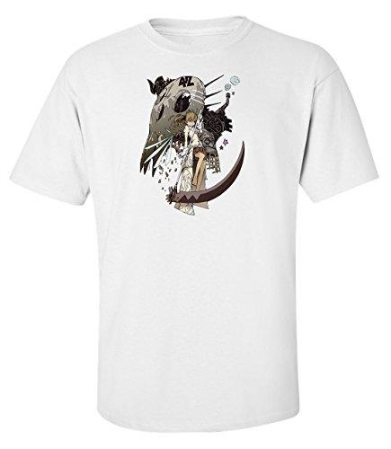 soul-eater-maka-albarn-anime-manga-t-shirt-homme-blanc-coton-xl
