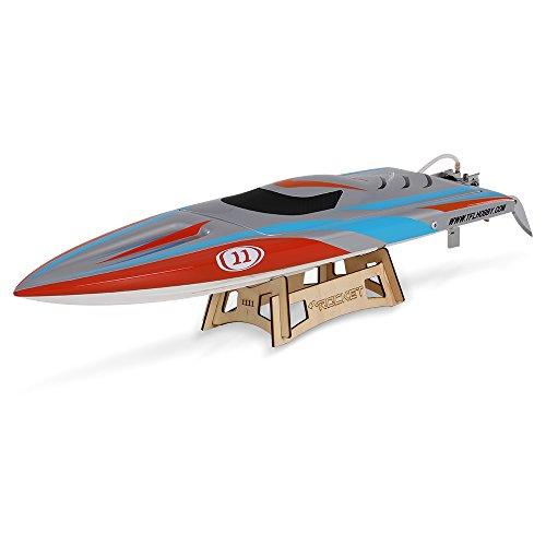 Preisvergleich Produktbild Goolsky TFL Hobby 1111 Rocket-2.4G Racing Brushless Elektro Wasserkühlung Speedboat Glasfaser RC Boot
