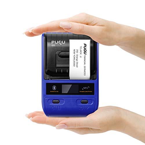PUQU Bluetooth Label Printer, Po...