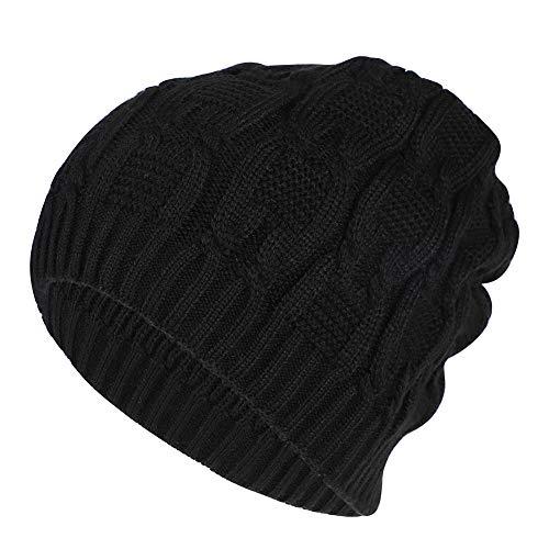 d7f239888 Women Men Slouch Beanie Hat Warm Knitted Beanie Hat Skull Hat Cap Wool  Crochet Hat Braided Skullies Beanies Hat Ski Snowboarding Hat Outdoor Sport  ...