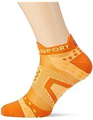 Compress port PRS Ultralight Run Low V2.1Calcetines, todo el año, unisex, color naranja, tamaño T3