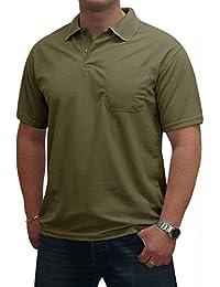 "Super Herren Basic ""Polo Shirt"" Uni Baumwoll-Piqué S&LU"