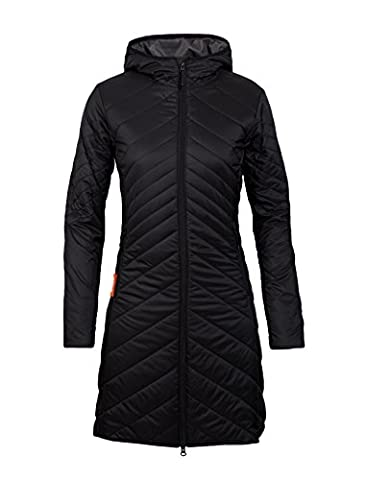 Icebreaker Damen Stratus 3Q Jacket Funktionshose, Black/Monsoon, M