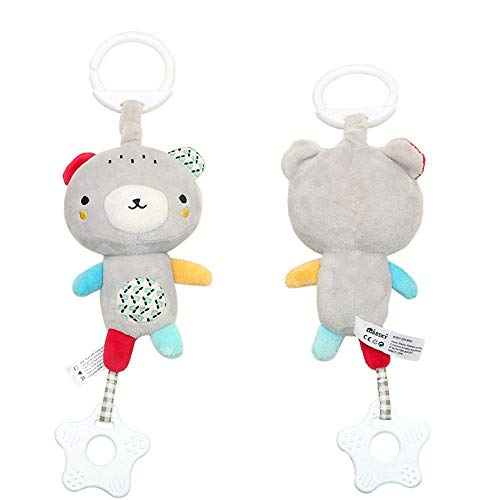 Bobopai 33cm Baby Infant Rattles Plush Cute Animal Hanging Bell Play Toys Doll Soft Bed Decor (I)